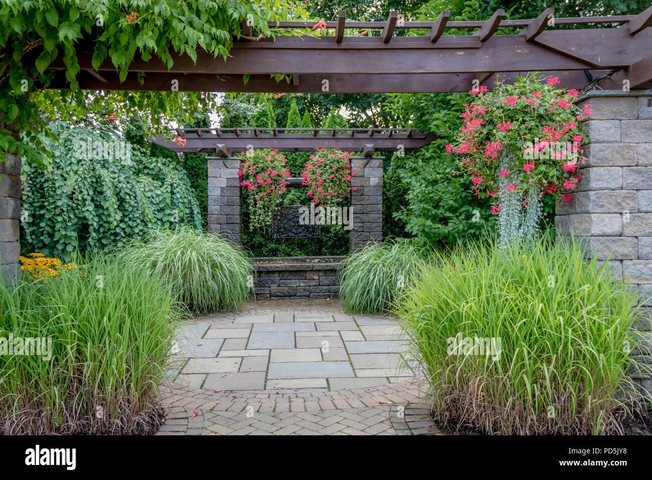 Architettura Del Verde architettura del paesaggio con acqua funzioni per giardino