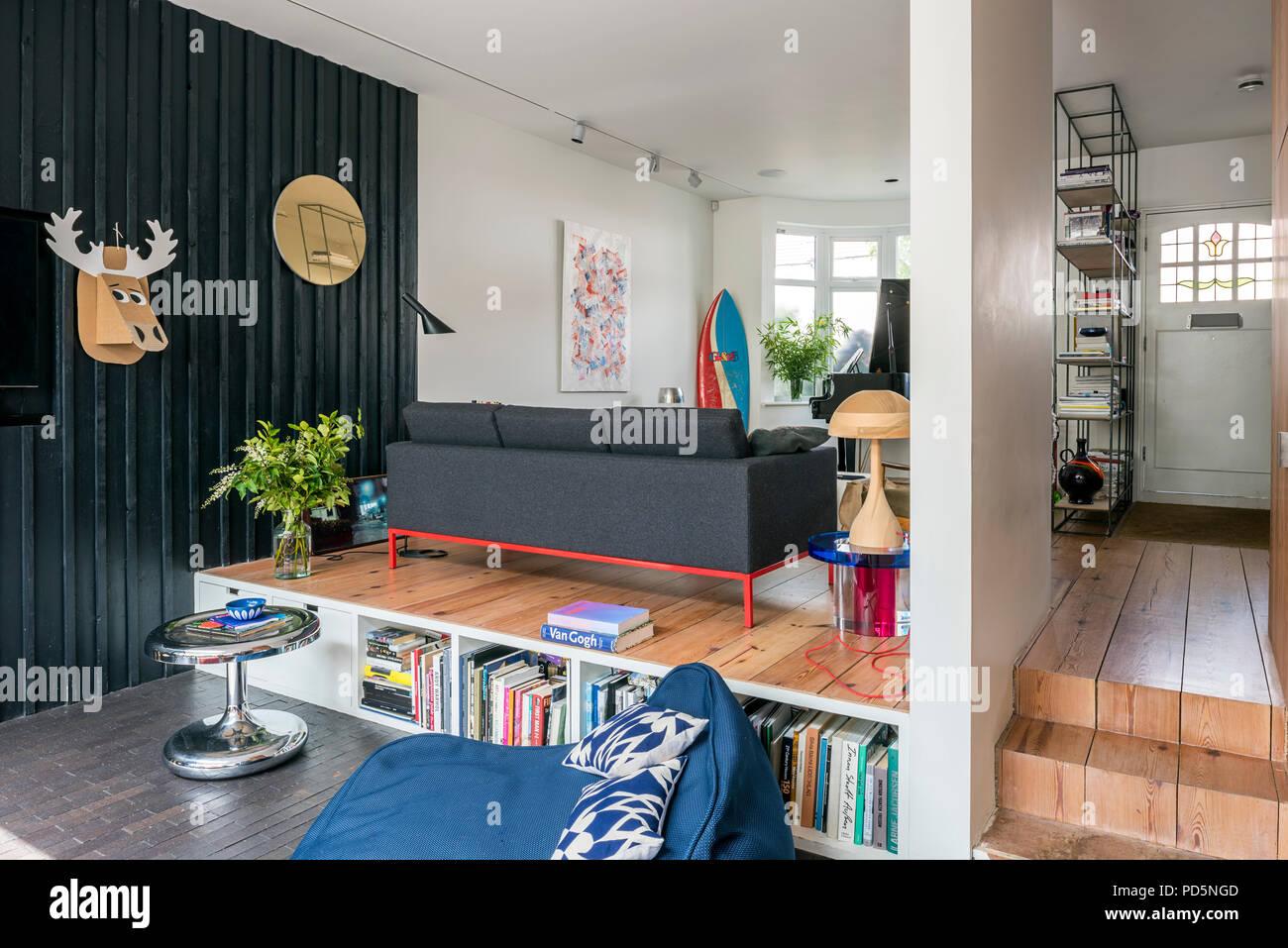 Pareti Ricoperte Di Legno : Aprire il piano casa di famiglia con legname di pareti rivestite