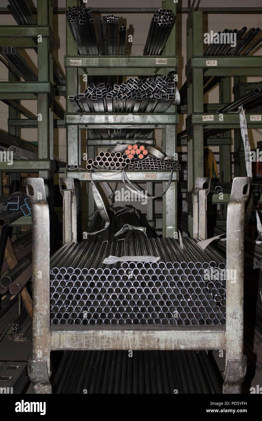 Contenitori In Ferro Per Magazzino.Scatola Di Stoccaggio Contenitore In Acciaio Per Tubi Metallici E