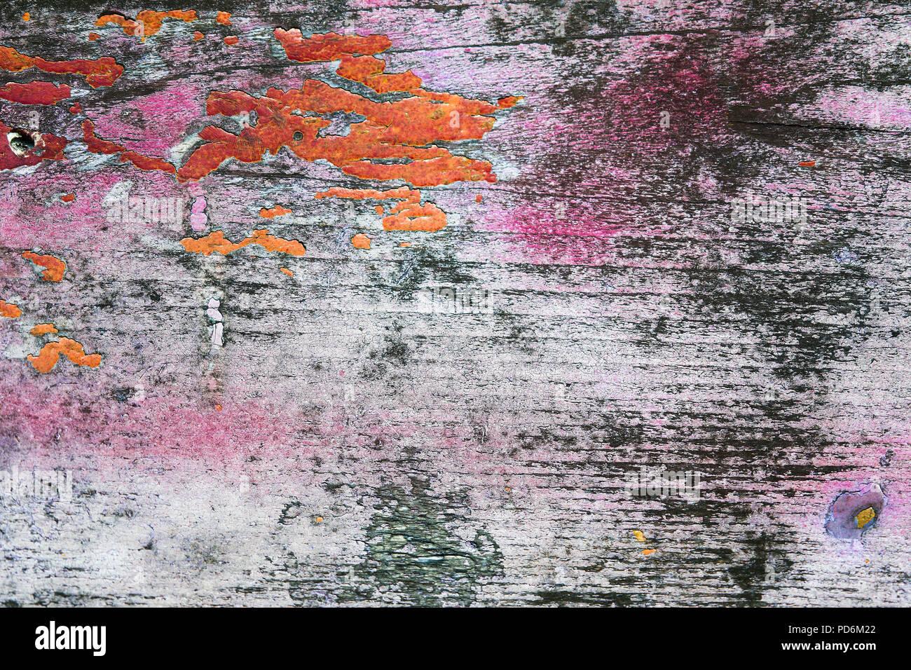 Colori Vernici Legno : Texture in legno con colore verniciatura spellato. sfald vernice