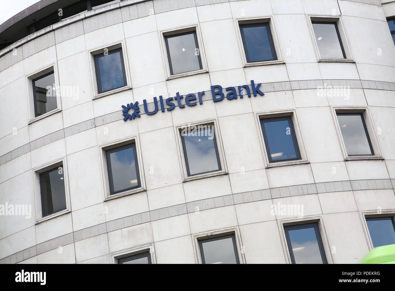 Ulster Bank building dublin Immagini Stock