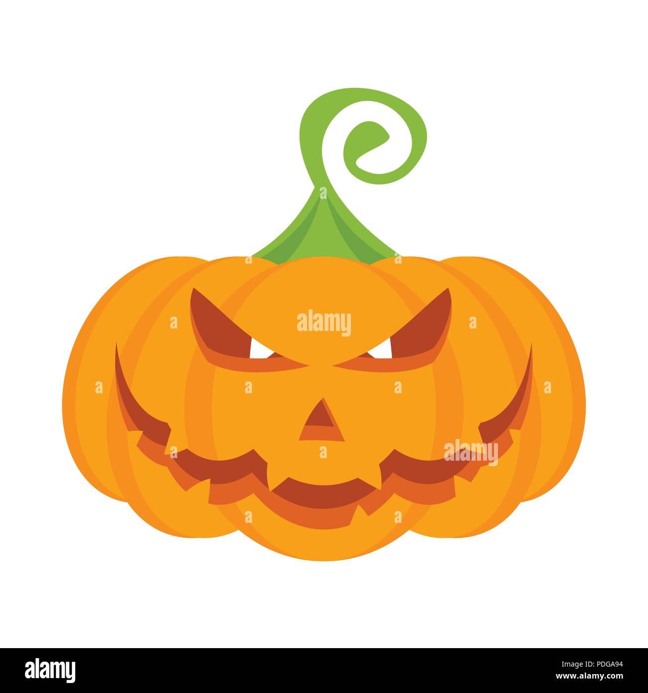 Immagine Zucca Di Halloween 94.Festa Di Halloween Zucca Di Carattere Con La Masterizzazione Il Male