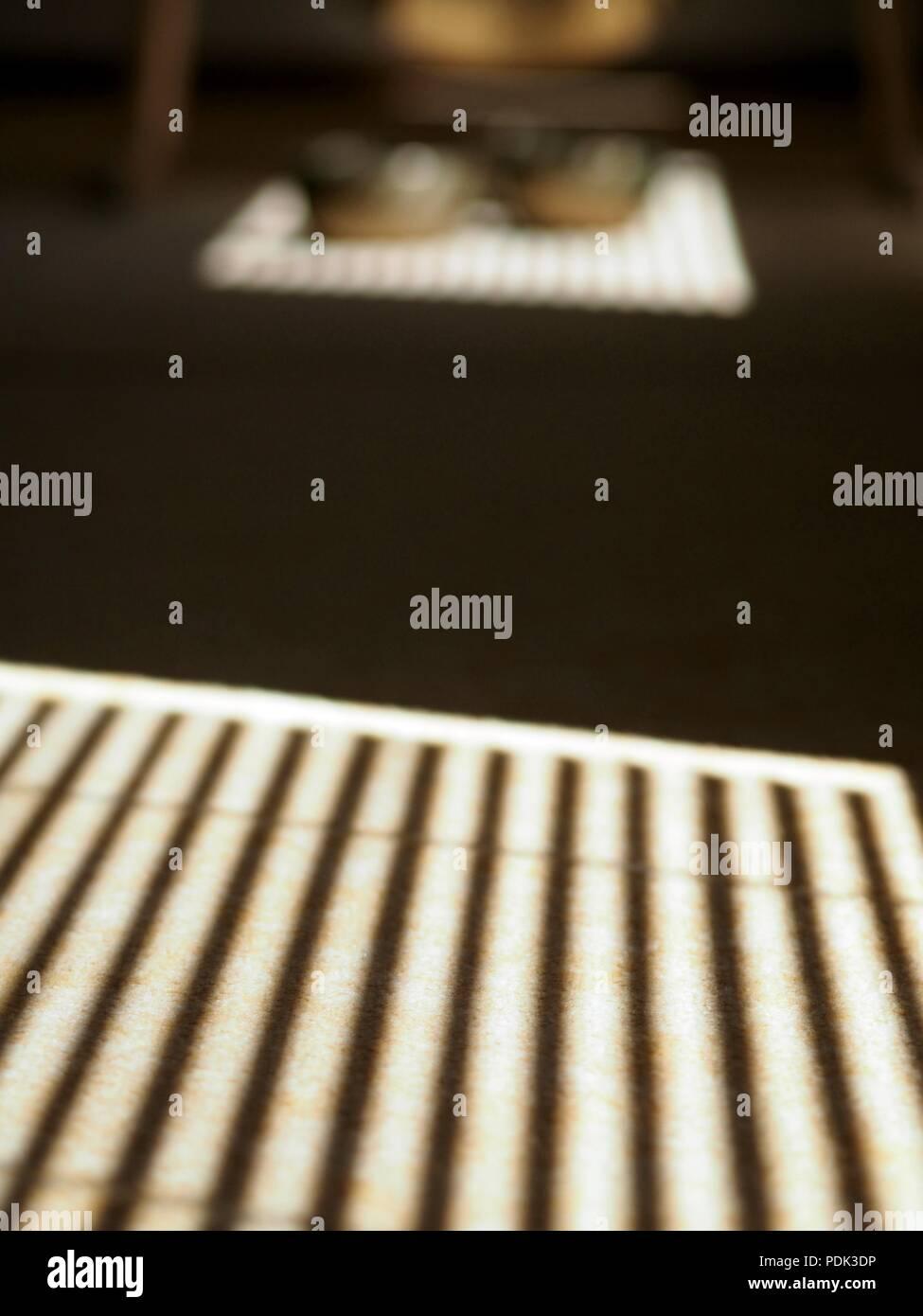 Il suono degli strumenti di guarigione, Feng Gong e SINGING BOWLS Immagini Stock