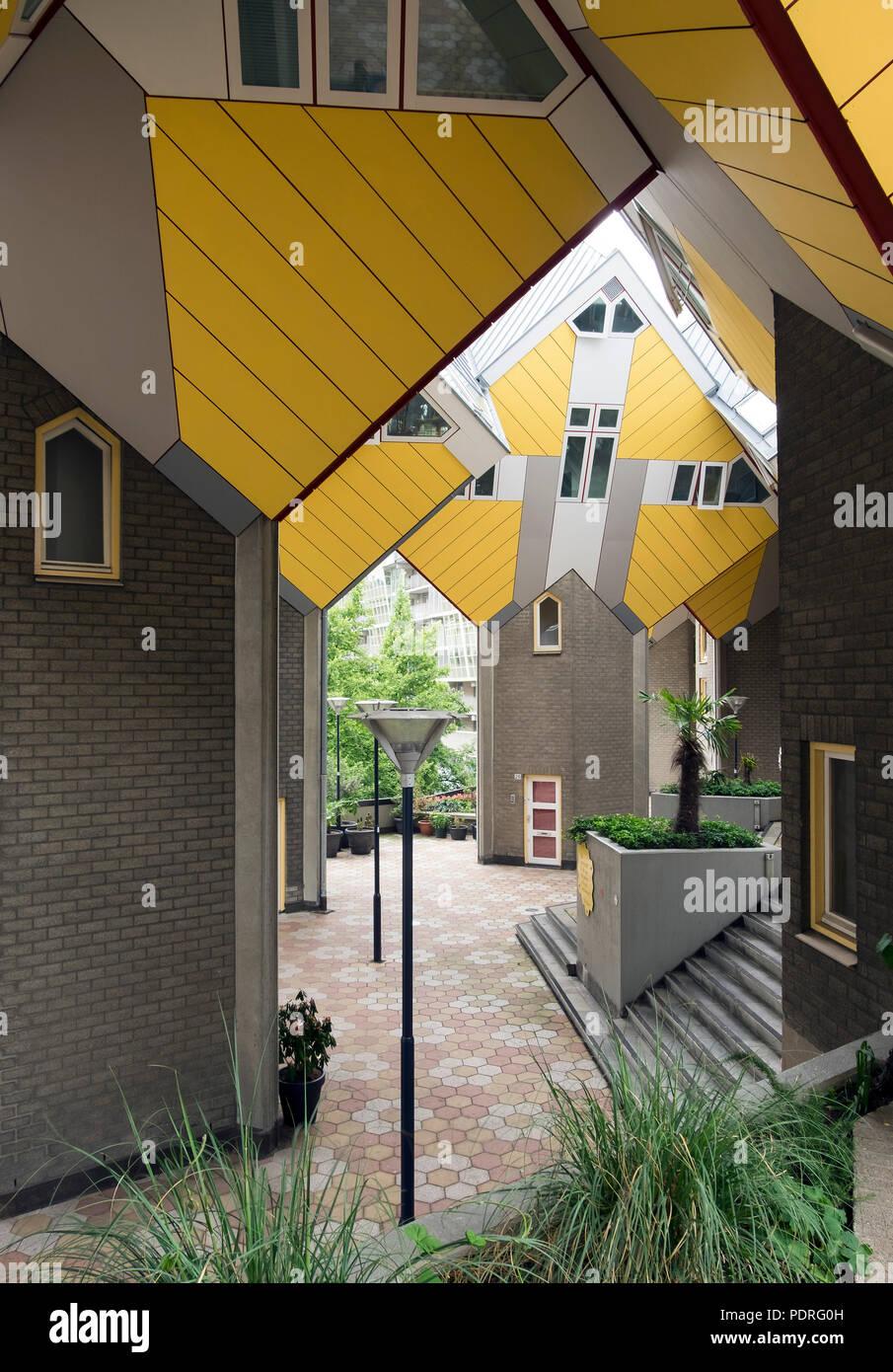 1978-1984 von Piet Bolm erbaut Immagini Stock