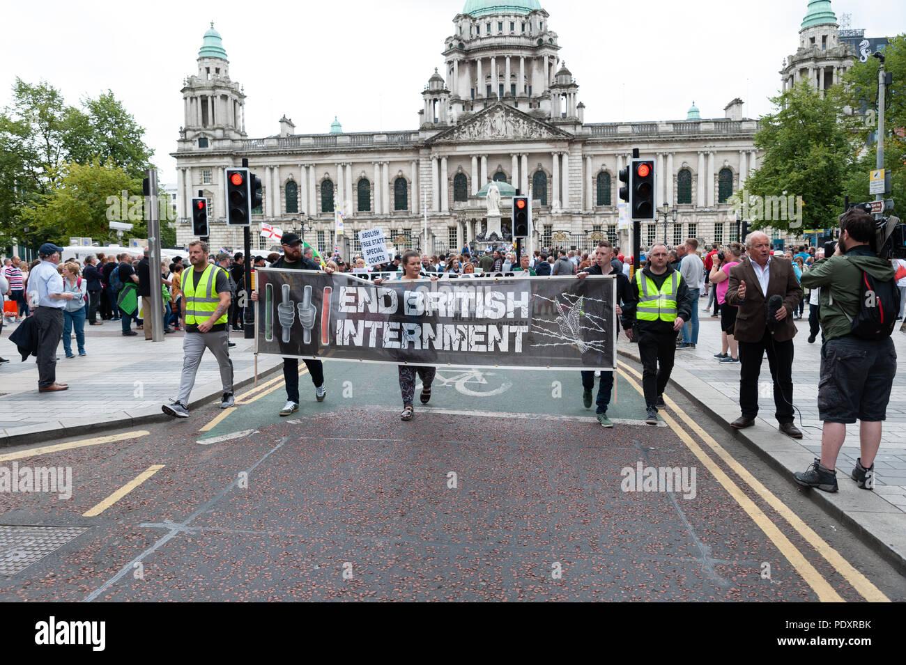 La Credenza Uk : Belfast irlanda del nord regno unito 11 agosto 2018. u.k. un anti