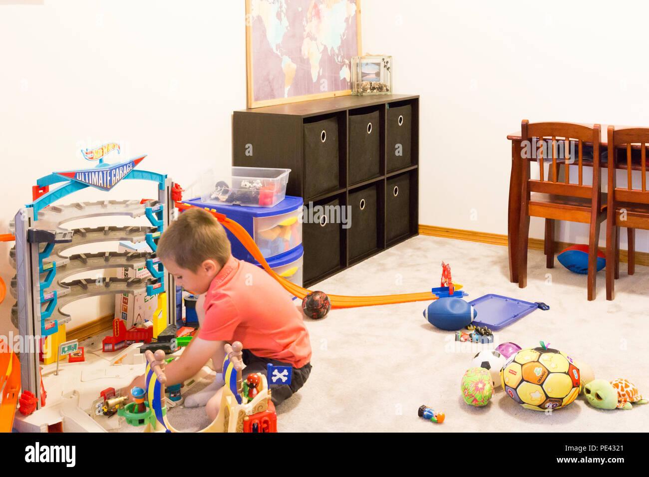 Sala Giochi Per Bambini : Sala giochi per bambini con giocattoli stati uniti d america foto