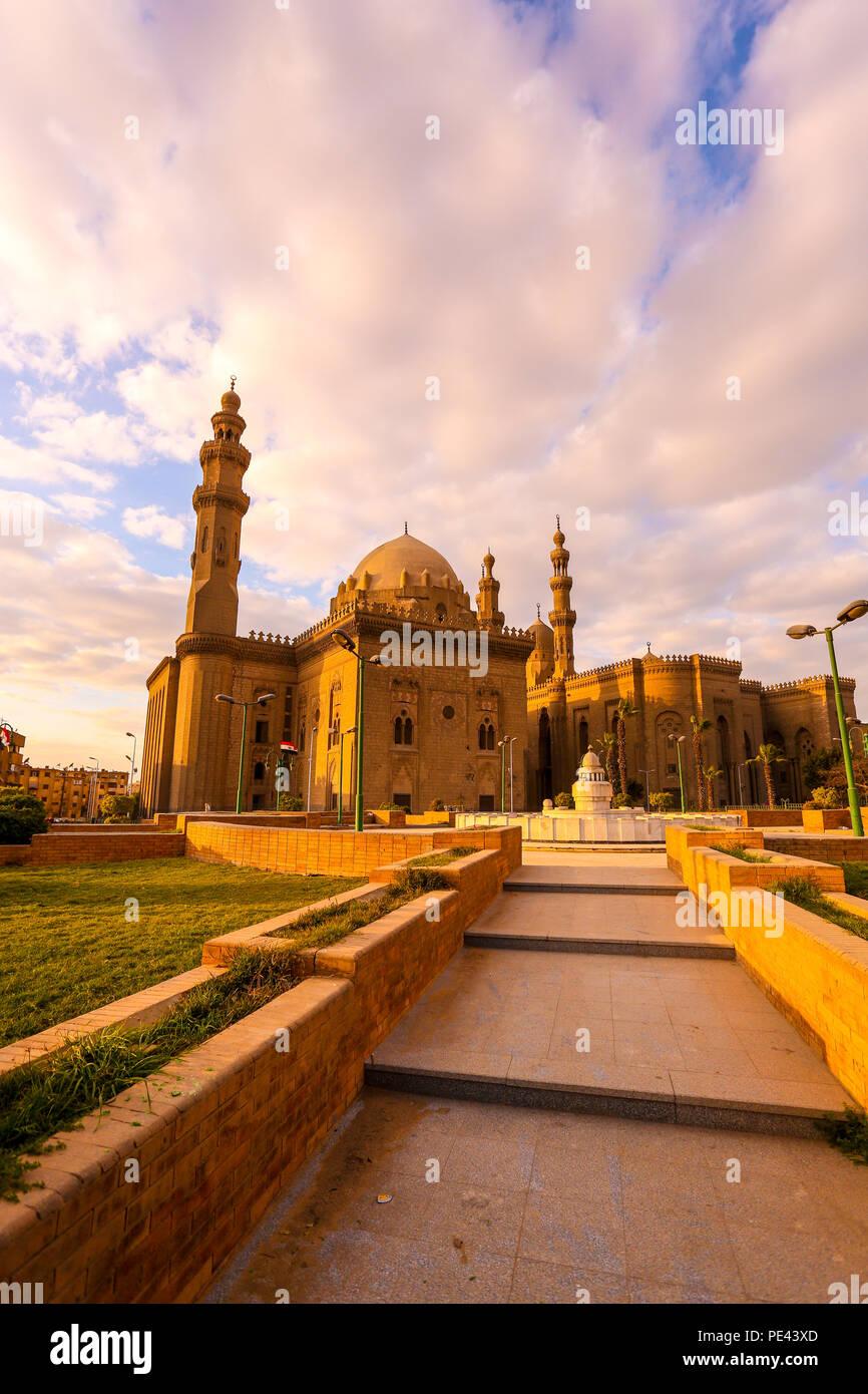 Moschea EL-Rifai al Cairo, Egitto Immagini Stock
