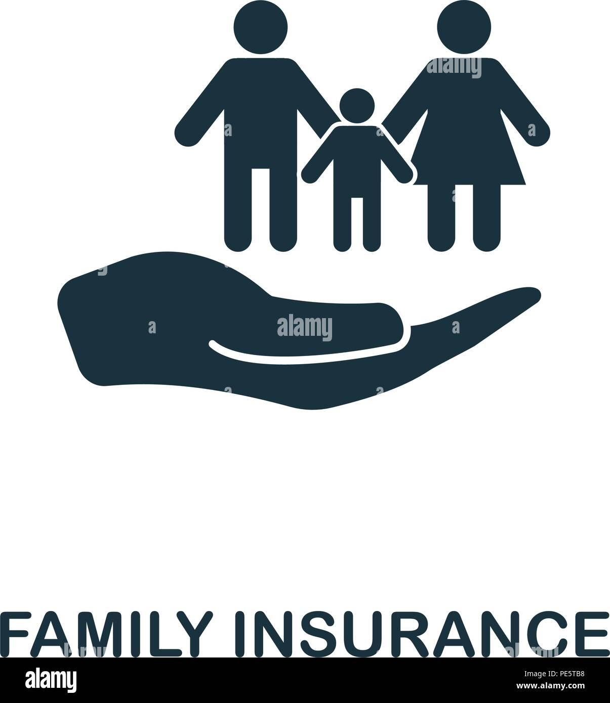Famiglia Di Assicurazione Icona Creativi Elemento Di Semplice Illustrazione Famiglia Di Assicurazione Concept Design Simbolo Dalla Collezione Di Assicurazione Possono Essere Utilizzati Per La Telefonia Mobile Immagine E Vettoriale Alamy