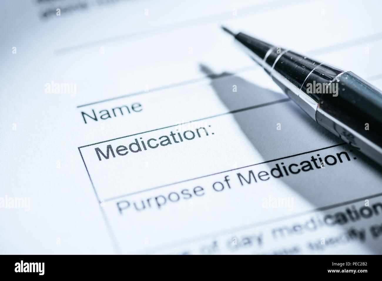 Ufficio Scrivania Questionnaire : Medical questionnaire immagini medical questionnaire fotos stock