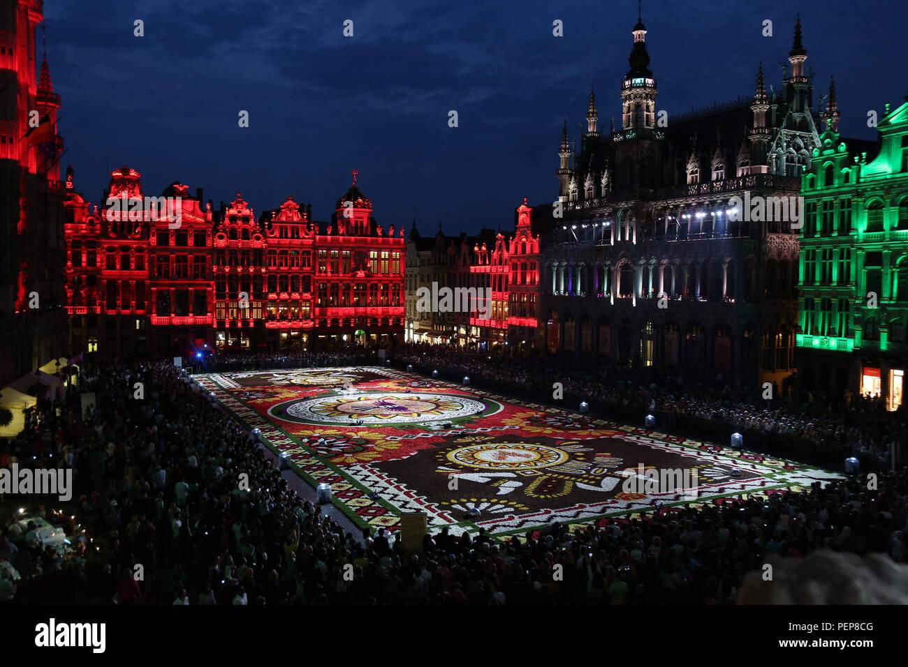 Tappeto Floreale Bruxelles : Tappeto del fiore a bruxelles fotografia stock editoriale
