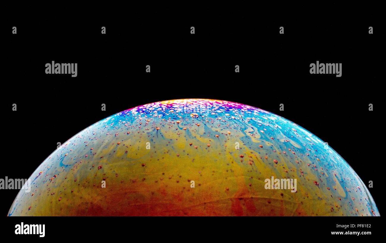 Spazio O Pianeti Universo Cosmico Sfondo Astratto Foto Immagine