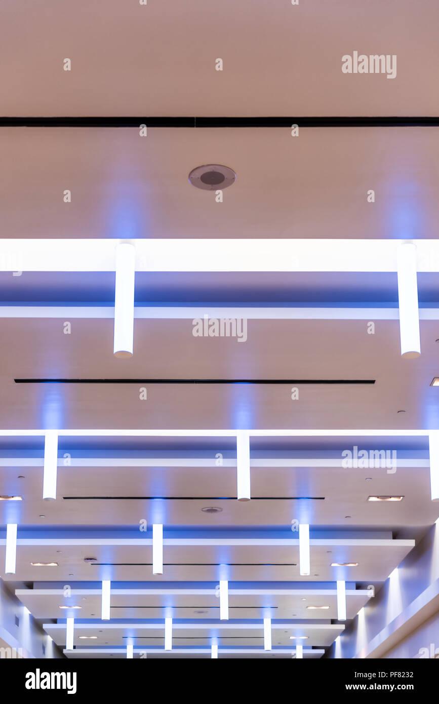 Vista Verticale Su Edificio Moderno Shopping Mall Corporate Office
