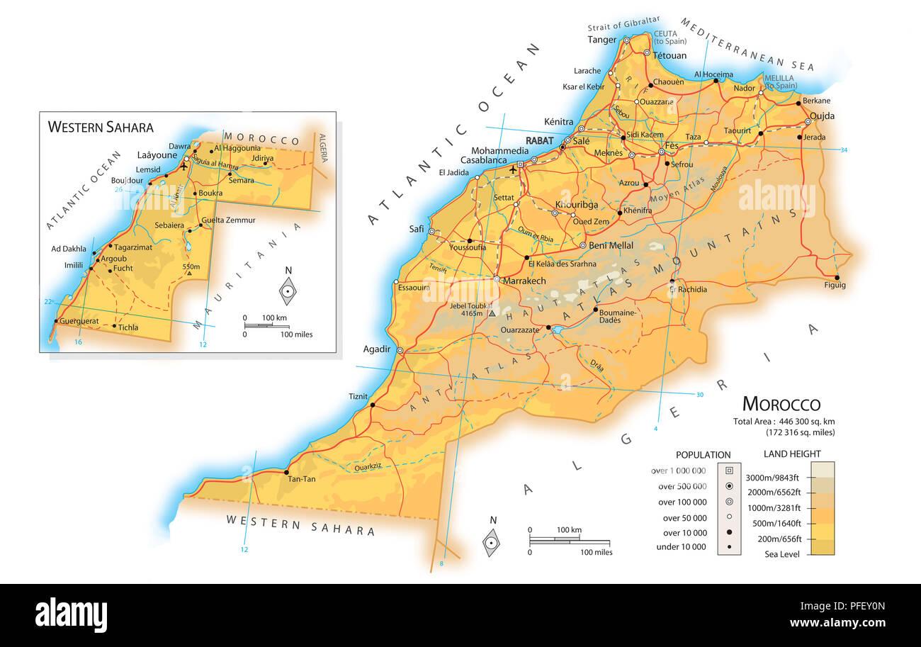 Cartina Marocco Da Colorare