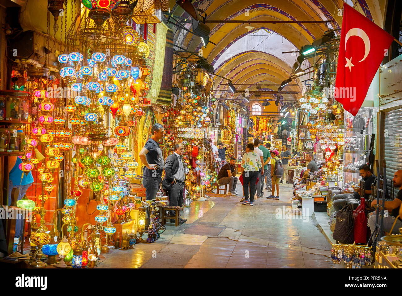 Il Grand Bazaar, Istanbul, Turchia Immagini Stock