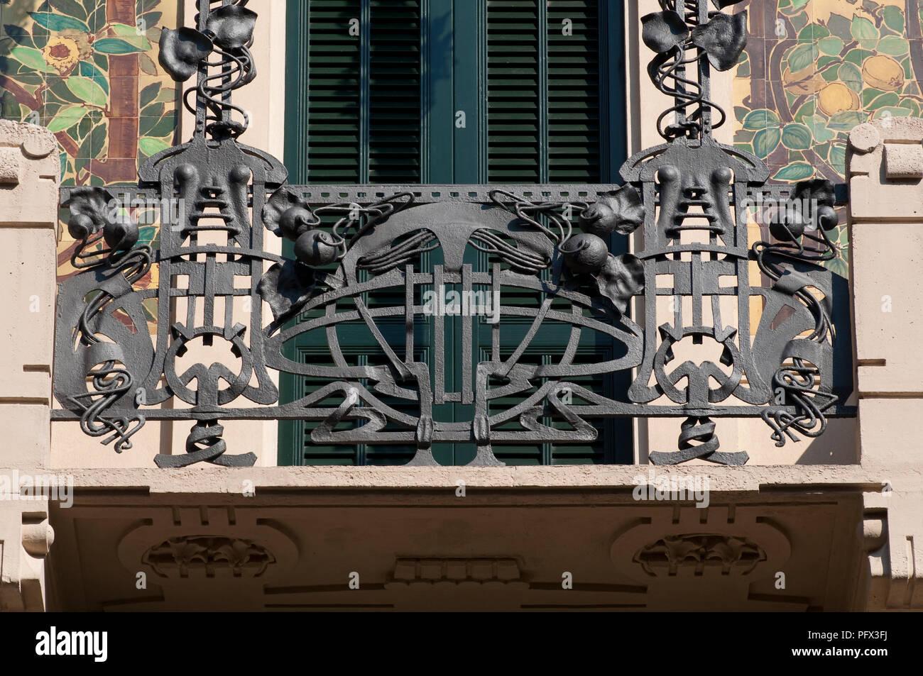L\'Italia, Lombardia, Milano, Casa Galimberti da Giovanni Battista ...