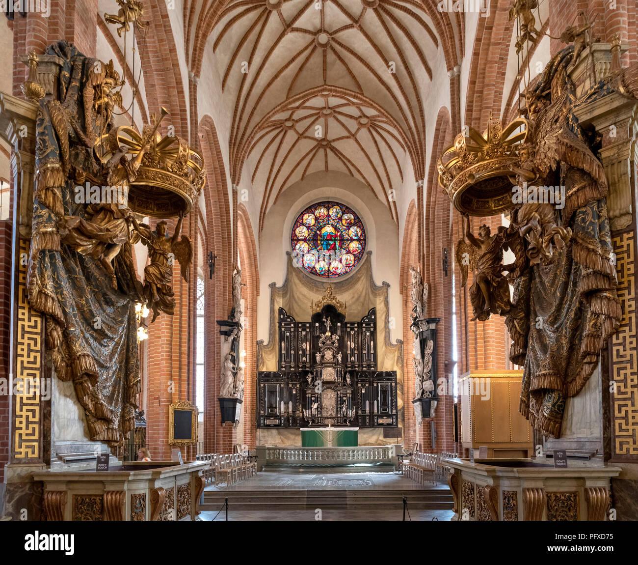 Storkyrkan (Cattedrale di Stoccolma, la Gamla Stan (Citta vecchia), isola Stadsholmen, Stoccolma, Svezia Immagini Stock