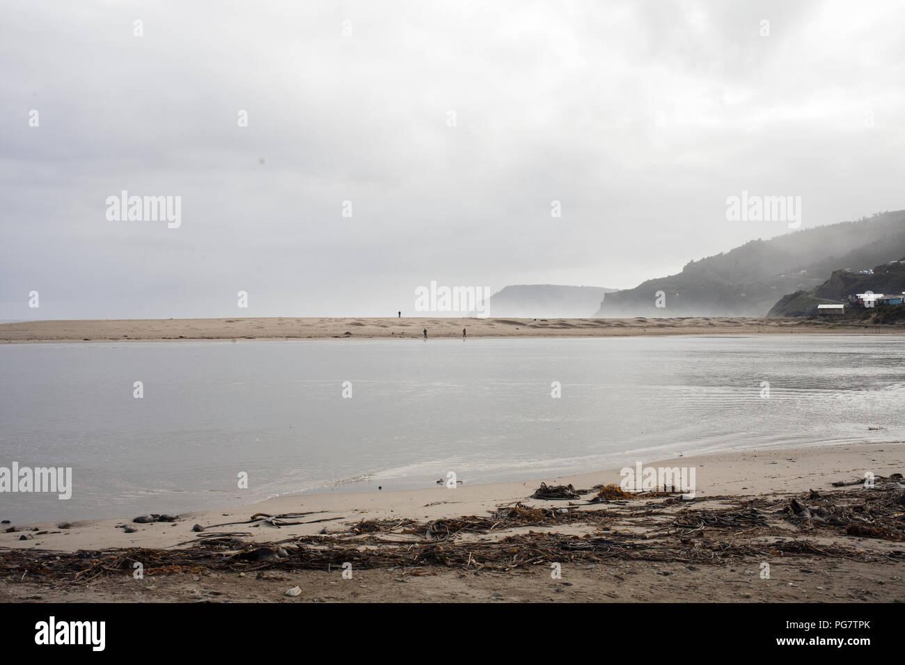 Oceano Pacifico, Cile Immagini Stock