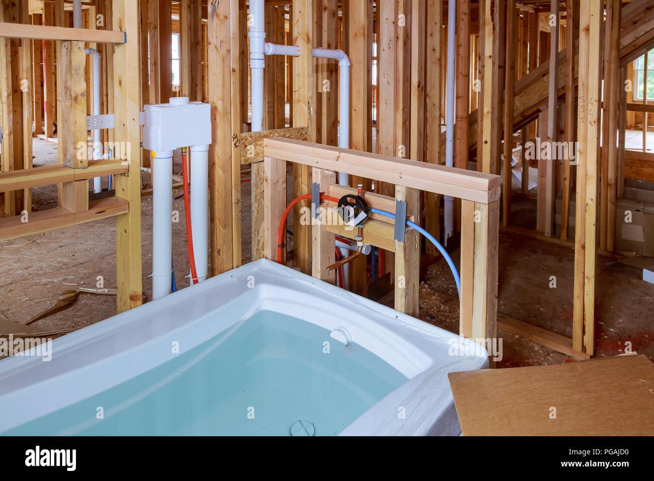 Bagno di nuova installazione casa nuova installazione di