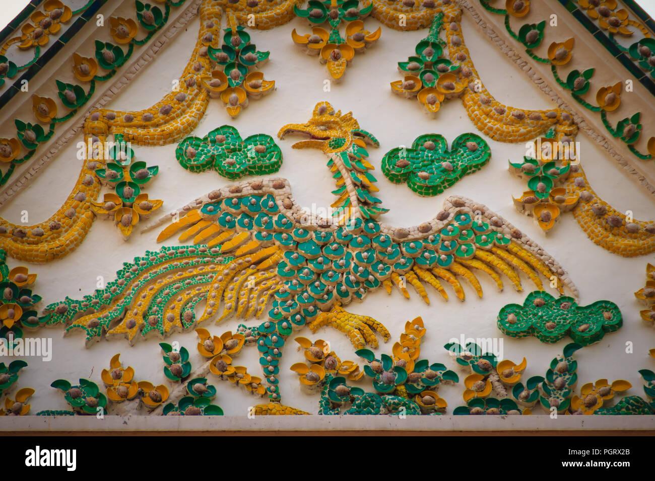 Misto di design elegante madreperla conchiglia mosaico murale