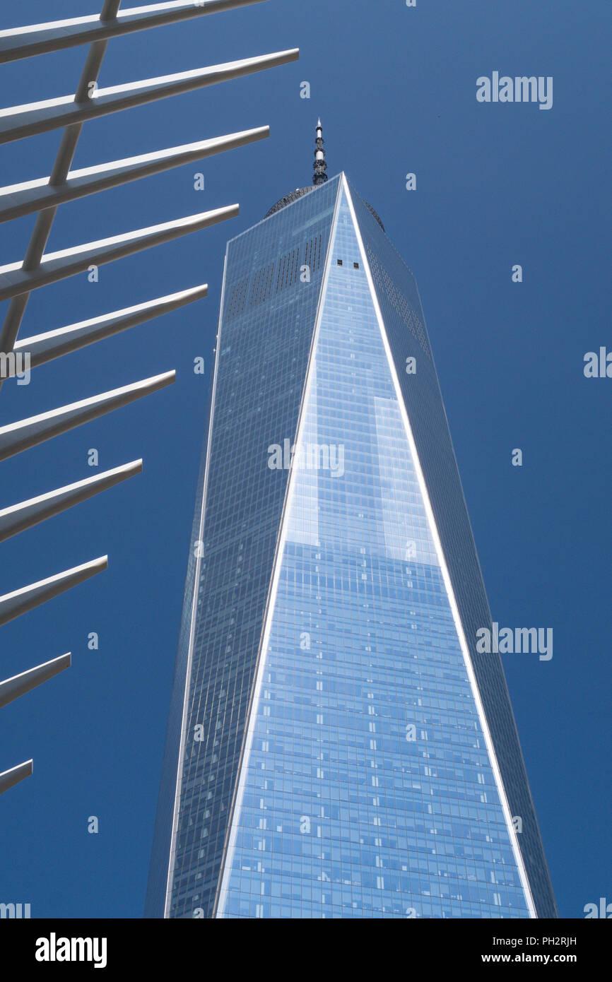 World Trade Center Complex in Lower Manhattan, New York, Stati Uniti d'America Immagini Stock