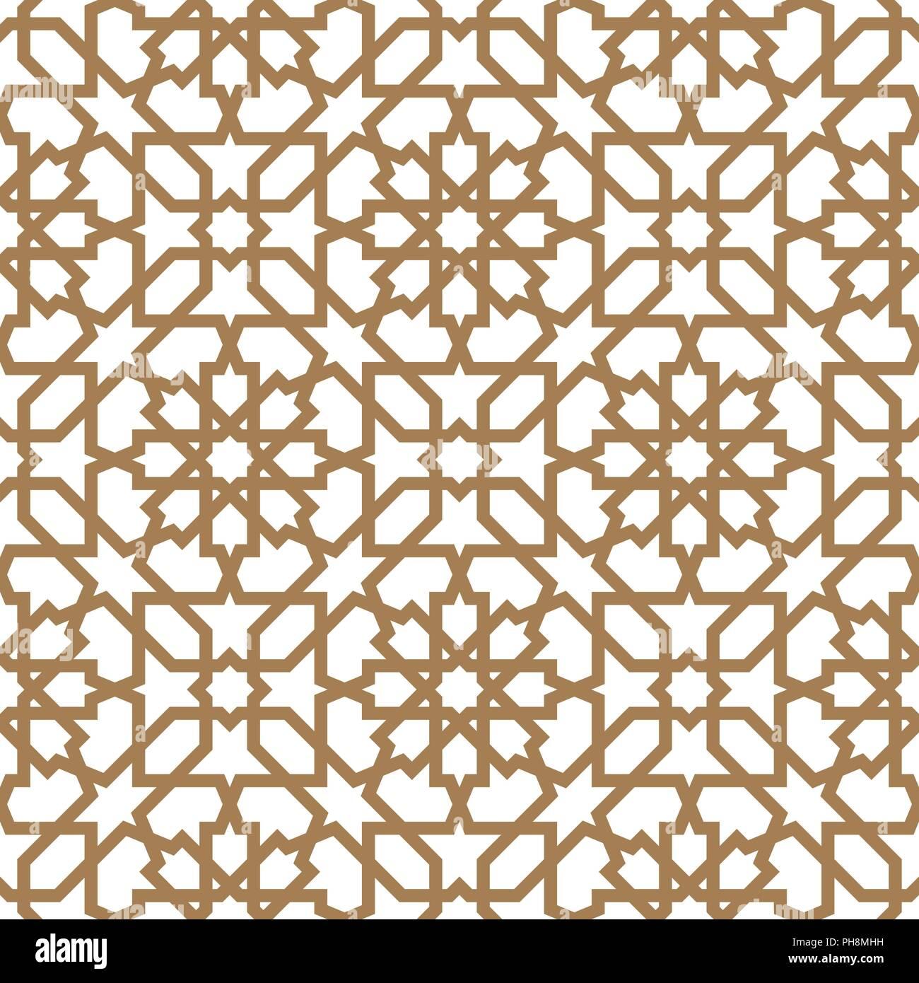 Seamless arabo ornamento geometrica basata sul tradizionale arte araba  Mosaico musulmano. Bagno turco 644b0f23cba