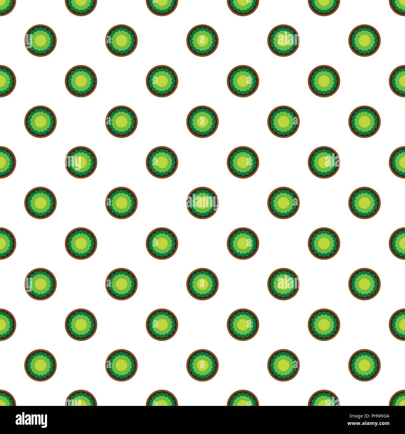Sfondo senza giunture di vettore e colorato di astratta texture di sfondo, pattern sfondo che crea dal cerchio, ovale, quadrata, bordo frastagliato, stella. Immagini Stock