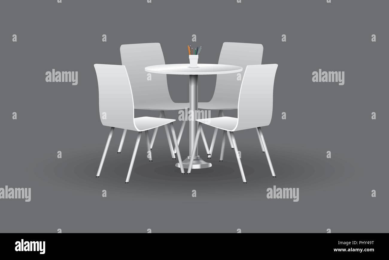 Tavolo tondo cm bianco opaco piano in vetro arredamento e