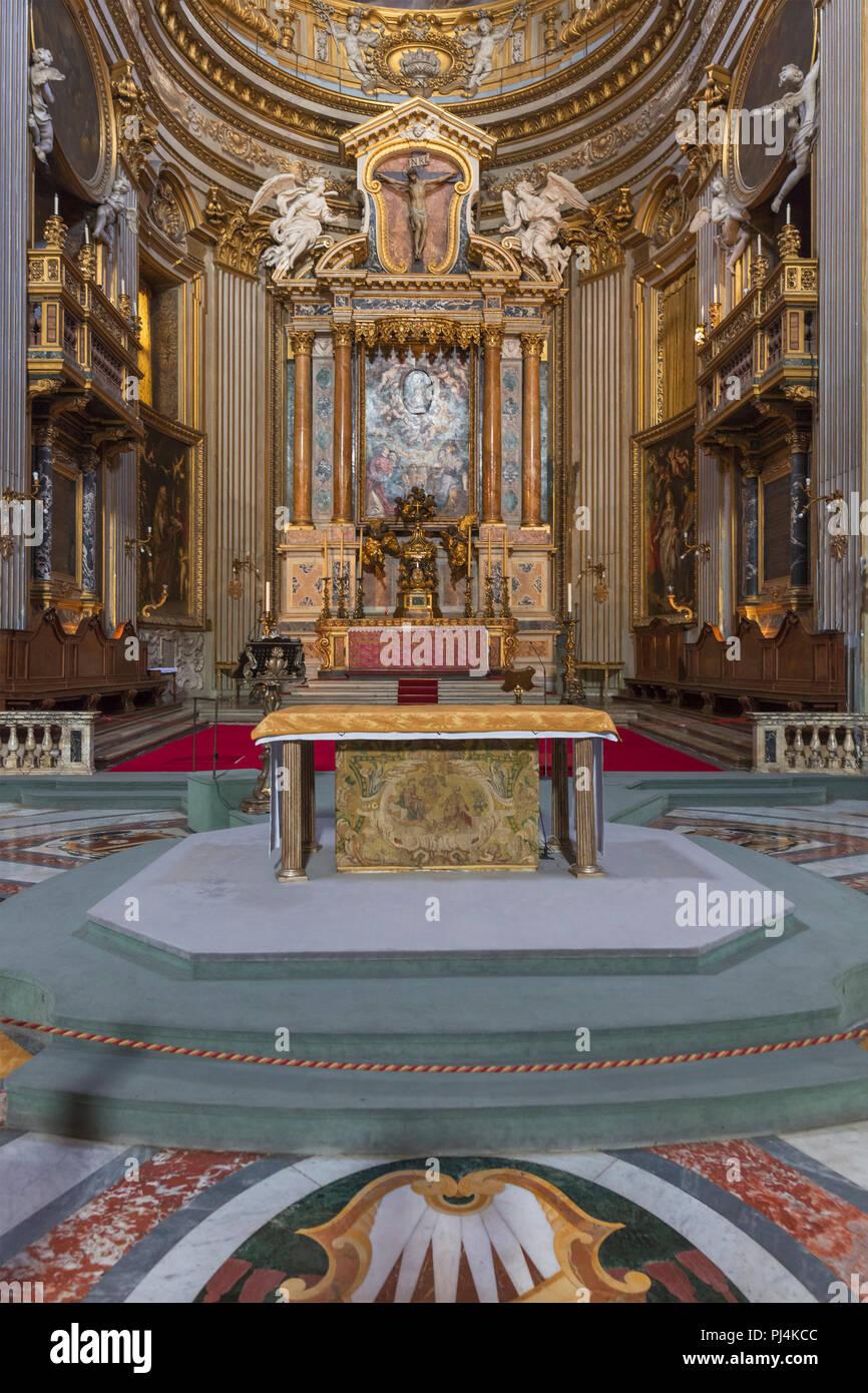 Chiesa Di Santa Maria In Vallicella Interno Chiesa Nuova Roma