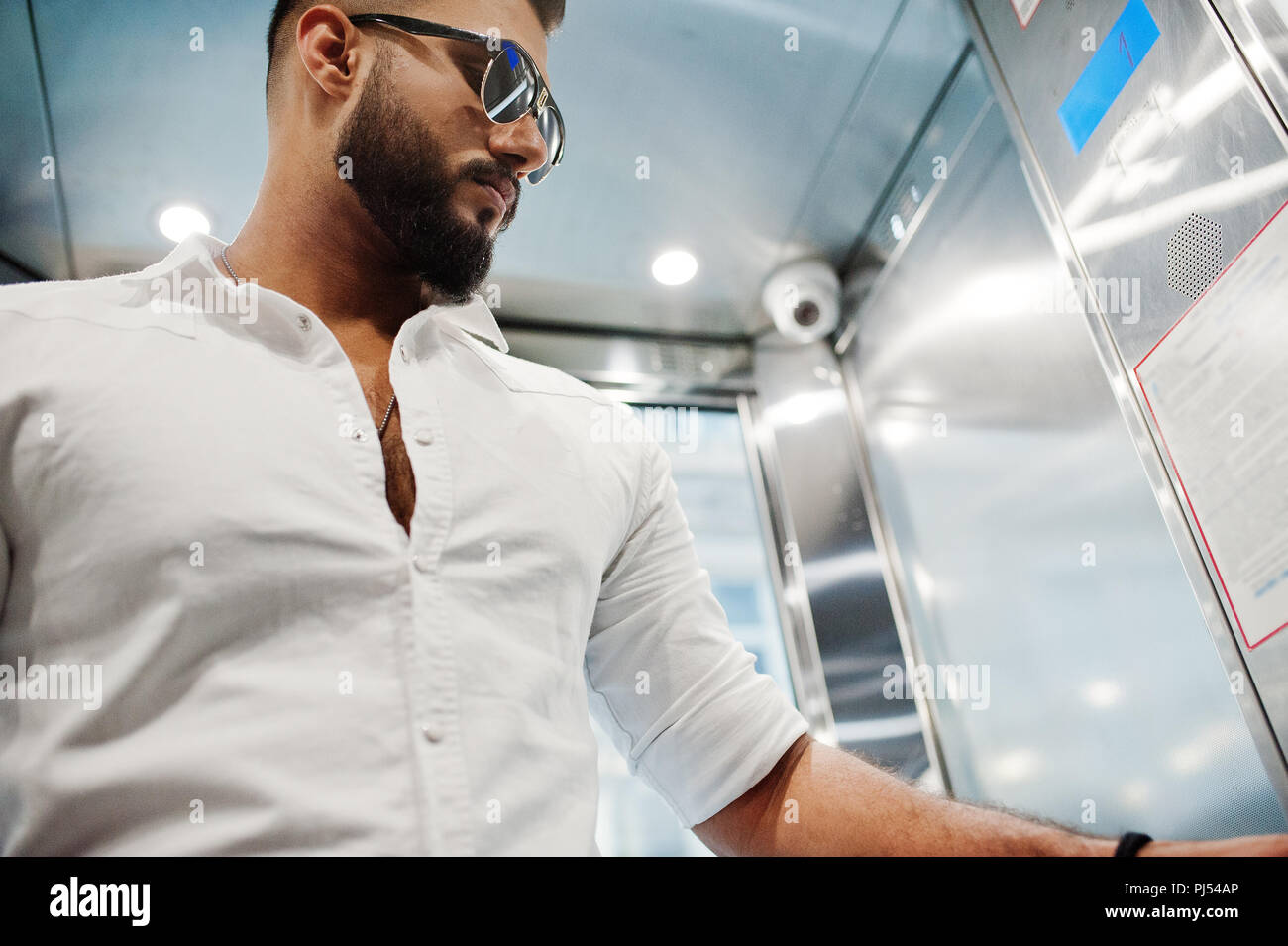 Camicia E In Da Tall Occhiali Elegante Modello Bianca Arabian Uomo N8wPXOn0k