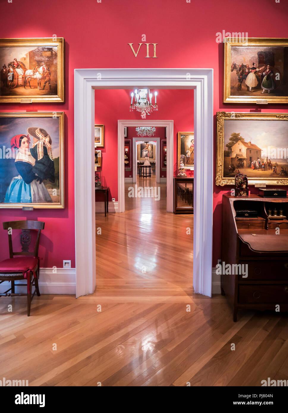 Museo del Romanticismo. Madrid. España Immagini Stock
