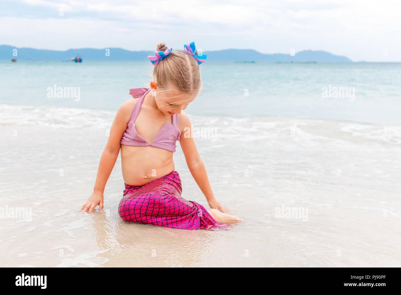 Costume Da Bagno Sirena : Italia costume da bagno rosa sirena fornitura migliore costume da