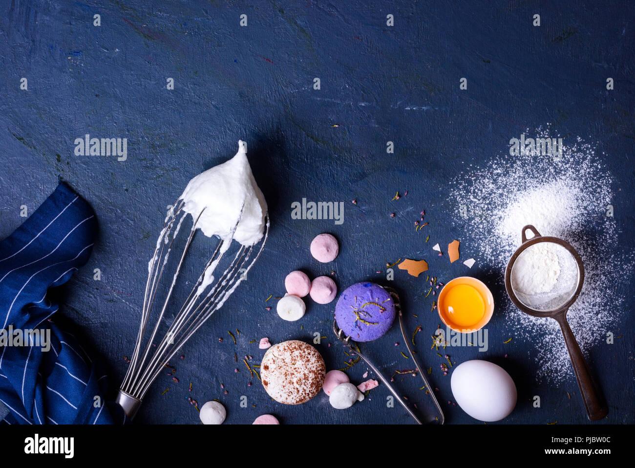 Cottura o cucina telaio dello sfondo. ingredienti articoli da