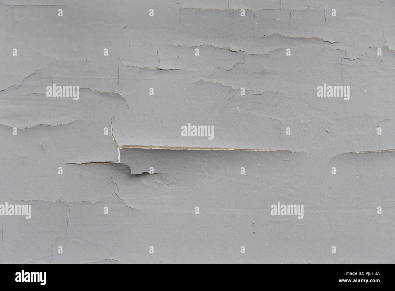 Pittura Per Esterni Grigia : Esterni in legno muro di casa con vernice grigio cracking
