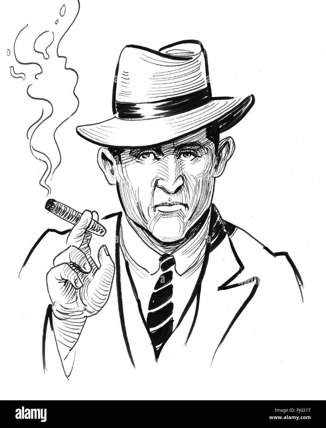 Mafia Stock Fotos Alamy Immaginiamp; Cigar PikZOXu