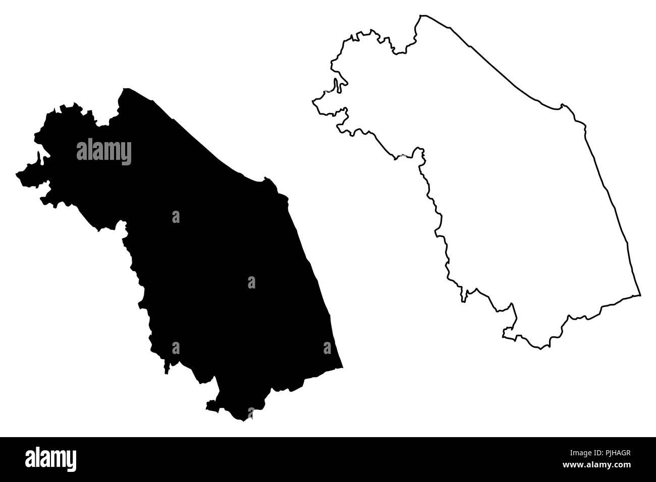 Marche Cartina Muta.Italy Italian Country Map Outline Foto E Immagini Stock In Bianco E Nero Alamy