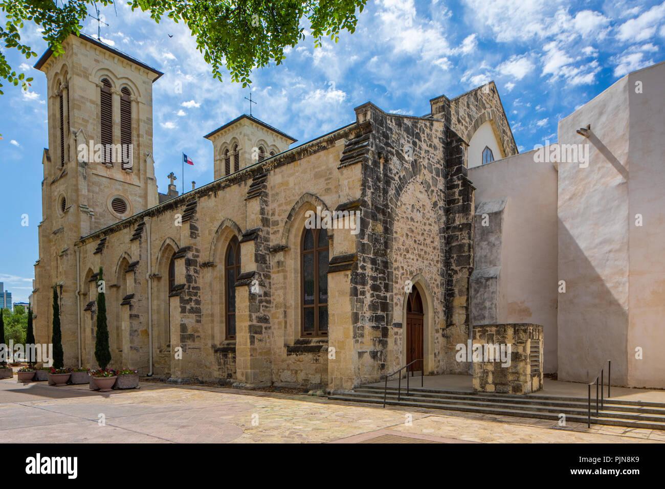 San Fernando Cathedral (Spagnolo: Catedral de San Fernando) (chiamato anche la Cattedrale di Nostra Signora della Candelaria e Guadalupe (Spagnolo: Catedral de Nu Immagini Stock