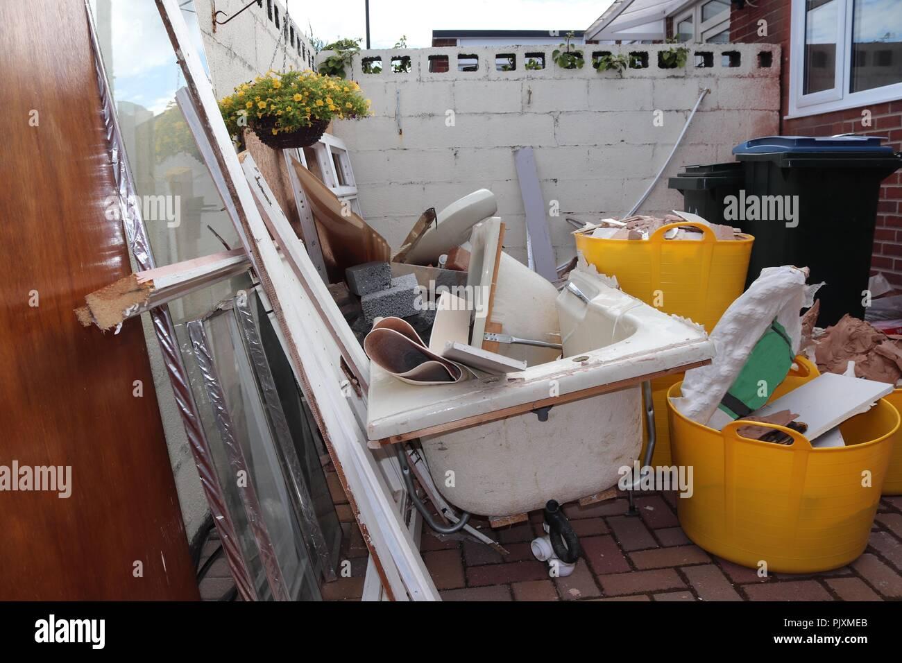 Progetti Di Ristrutturazione Bagno home progetto di ristrutturazione, nuova suite bagno.cortile