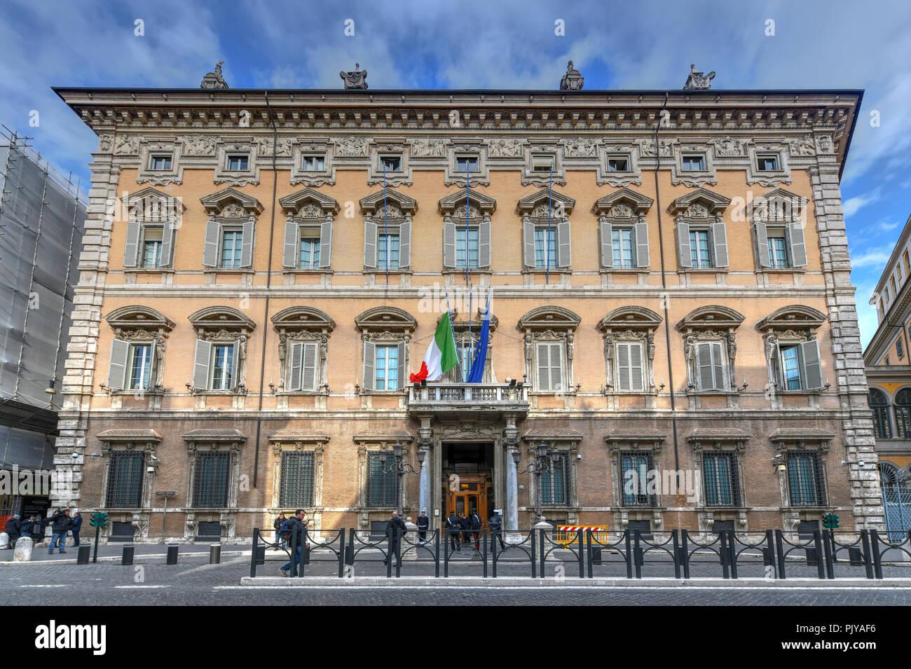roma italia 23 mar 2018 bella fascade di palazzo