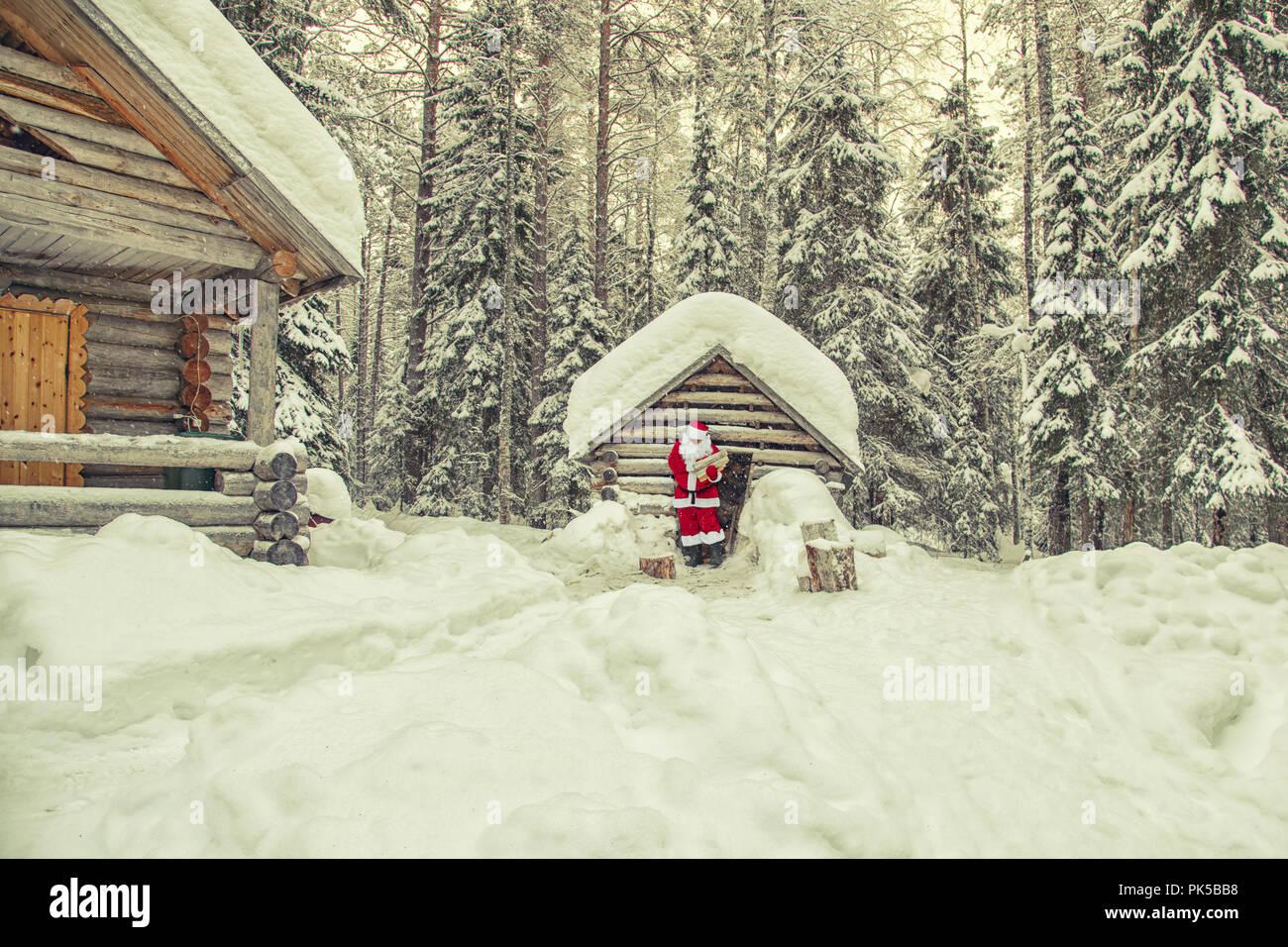 Casa Di Babbo Natale Al Polo Nord.La Vita Quotidiana Di Santa Claus Casa Di Babbo Natale Al