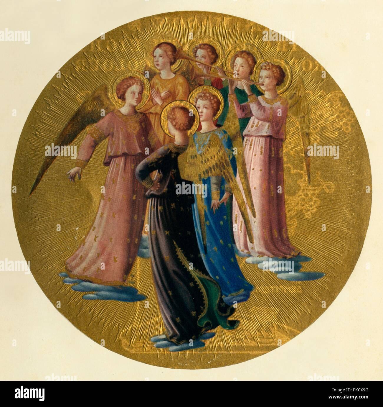Fra Angelico Angel Immagini e Fotos Stock - Alamy