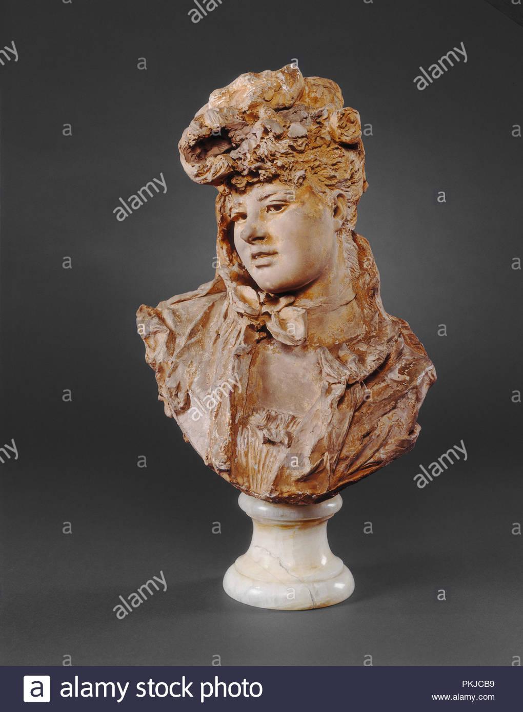 76d554a8c Busto di una donna. Data  1875. Dimensioni  complessivo  48