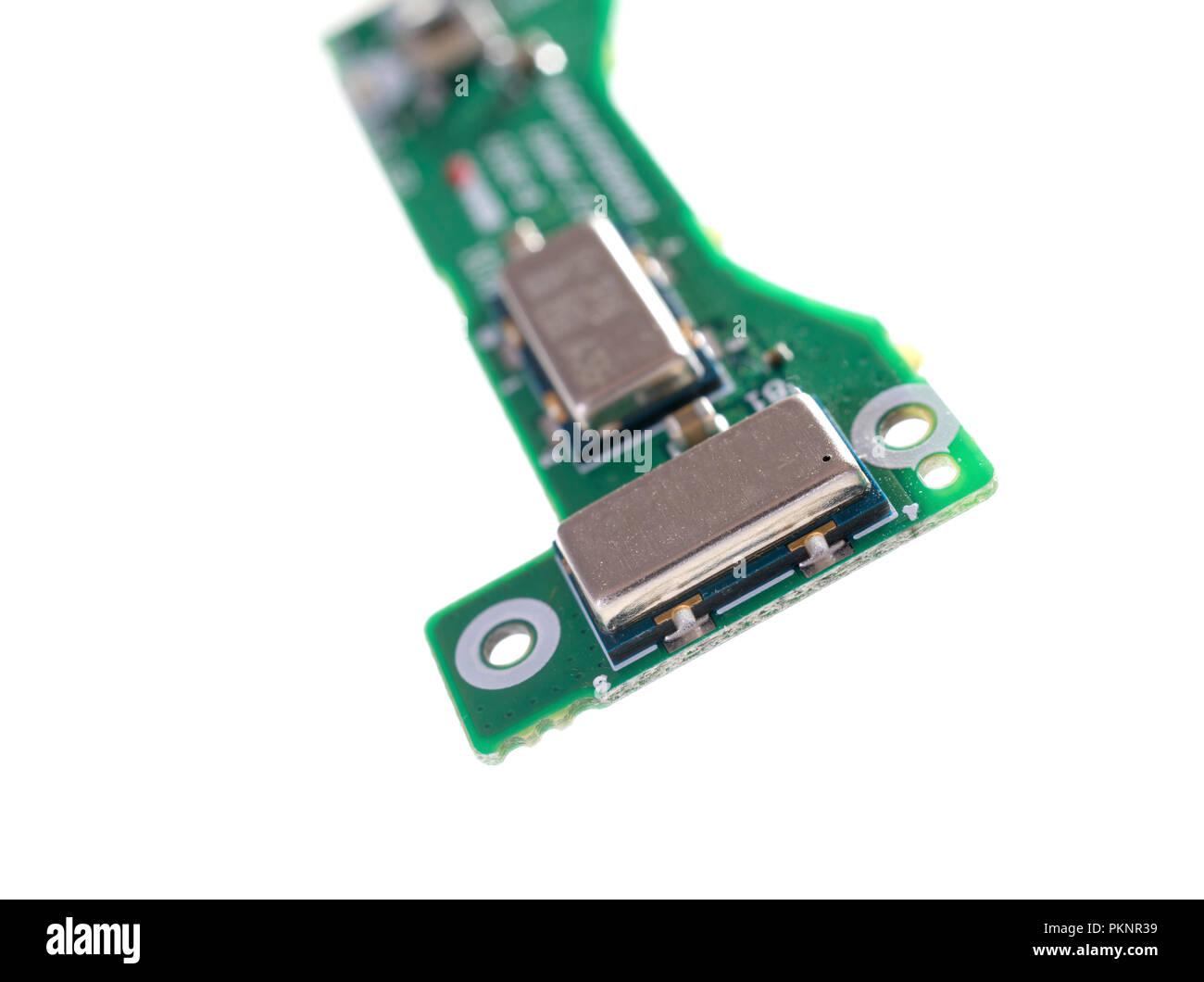 Accelerometro e giroscopio chip. Immagini Stock