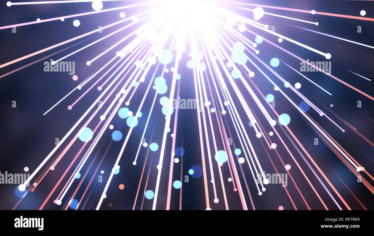 Adorazione e preghiera basata cinematografica raggi di luce utile di sfondo per divino, spirituale, i concetti di fantasia. Immagini Stock