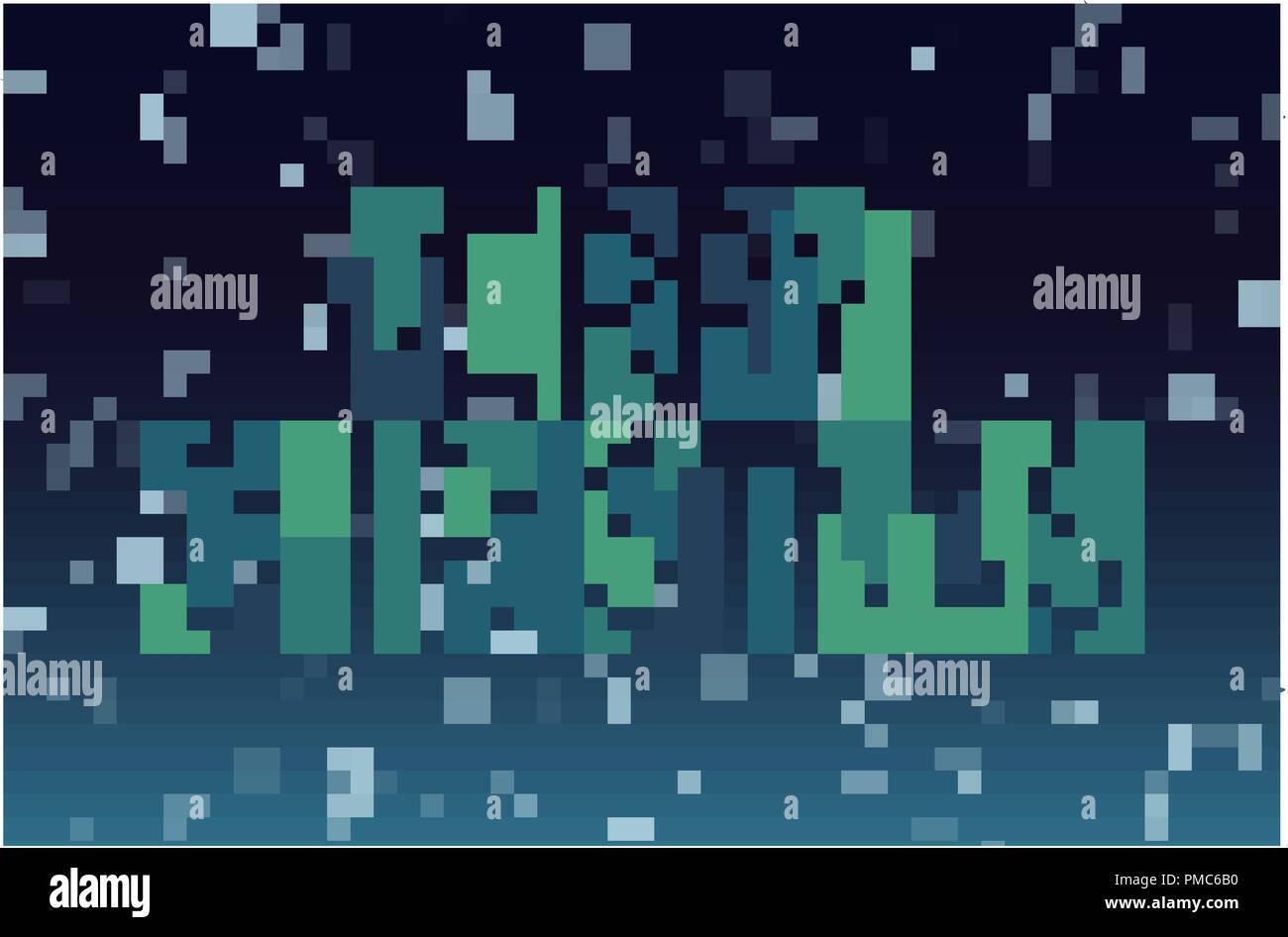 Fiocchi Di Neve Di Carta Modelli : Buon natale ritaglio geometrico lettere modello di pagina di