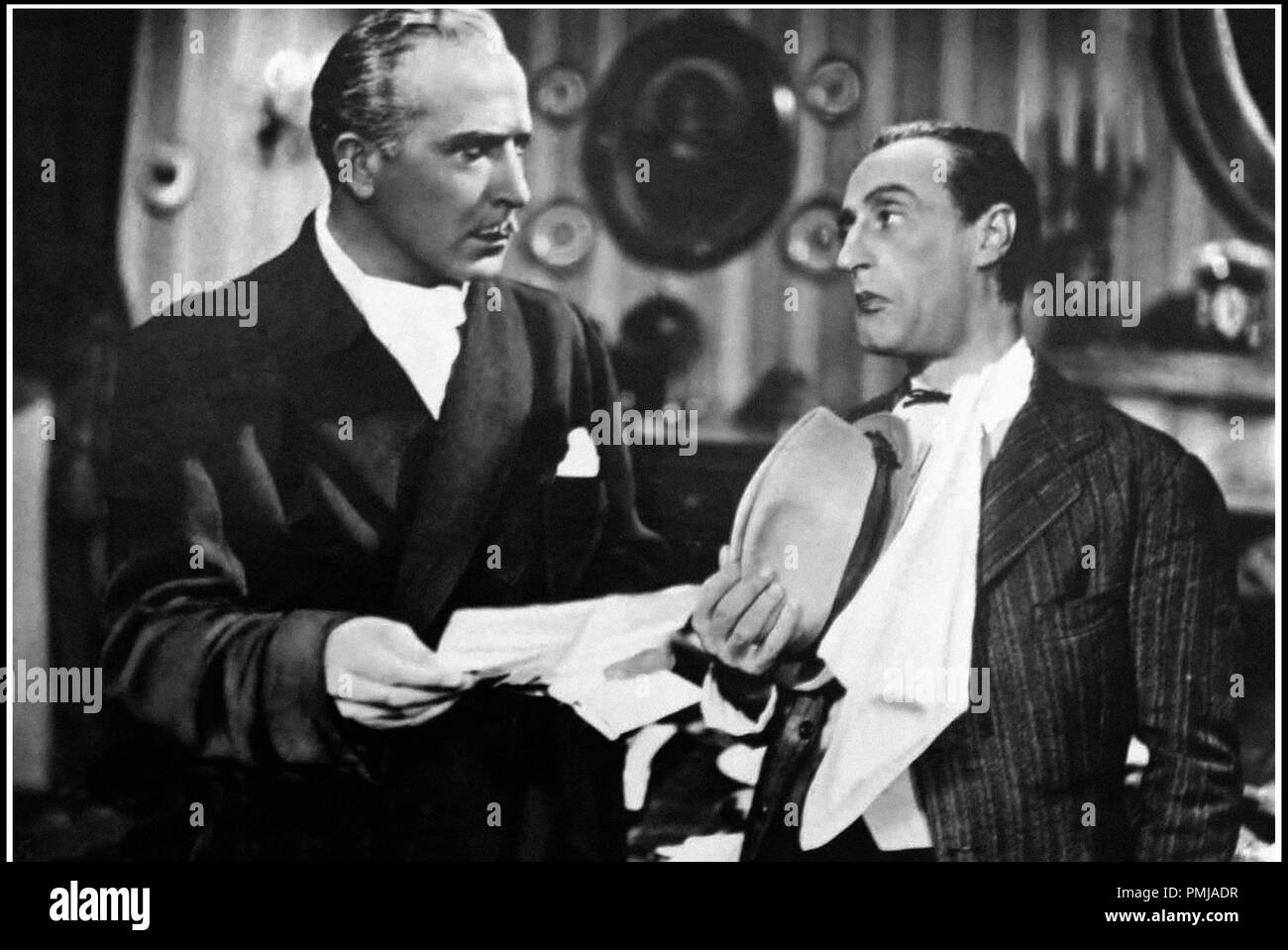 Prod DB © Fono Roma - Produzione Capitani Film / DR L'allegro fantasma de Amleto Palermi 1941 ITA. avec Luigi Pavese et toto Immagini Stock