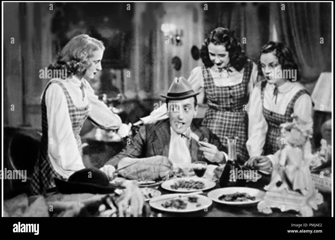 Prod DB © Fono Roma - Produzione Capitani Film / DR L'allegro fantasma de Amleto Palermi 1941 ITA. avec Toto seducteur, homme entoure de femmes, la mangiatoia Immagini Stock
