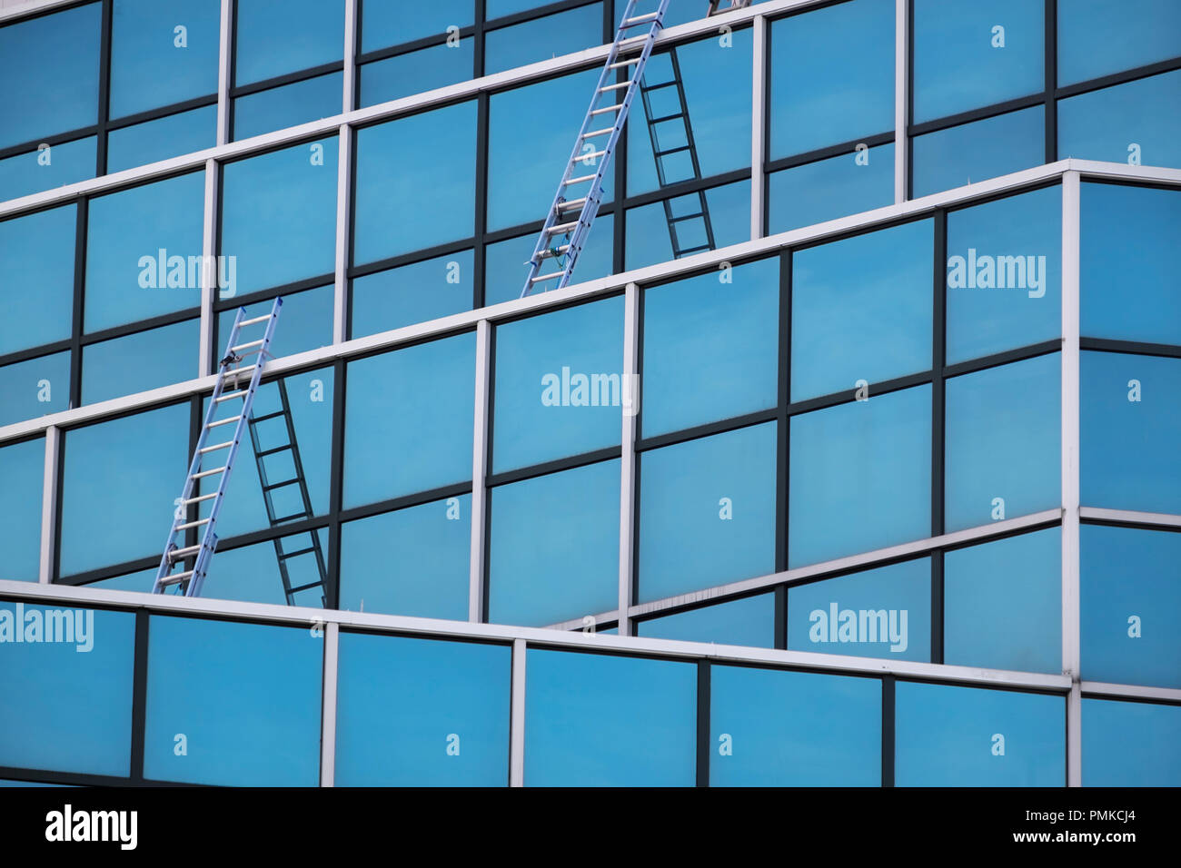Abstract Architettura, Birmingham, Alabama Immagini Stock