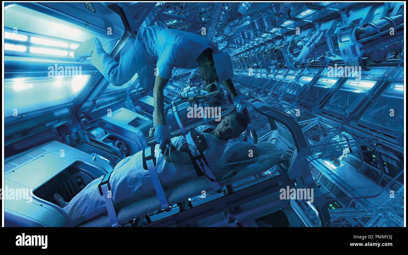 Prod DB © ventesimo Century-Fox Film Corporation - Giant Studios - Lightstorm Entertainment / DR AVATAR de James Cameron 2009 USA avec Sam Worthington film en 3-D, 3D, fantascienza, autres titoli: Avatar: Un IMAX 3D Experience (USA) (versione IMAX)Progetto 880 (USA) (titolo di lavoro) Immagini Stock