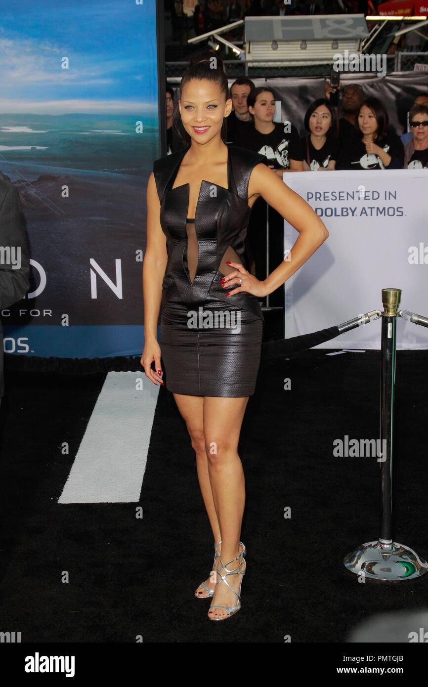 Denise Vasi alla premiere di Universal Pictures' 'Oblivion'. Gli arrivi presso Dolby Theater a Hollywood, CA, 10 aprile 2013. Foto di Joe Martinez / PictureLux Immagini Stock
