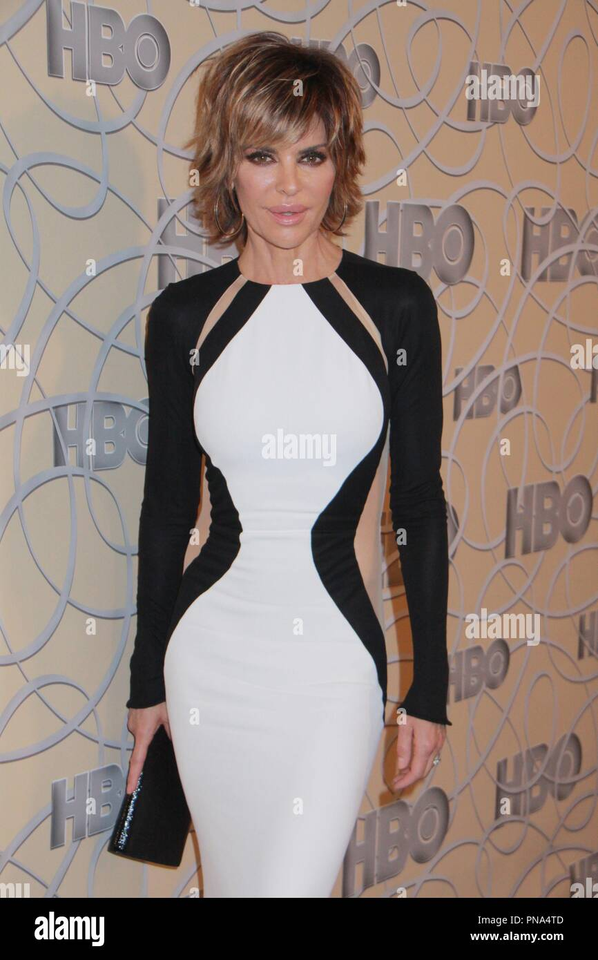 Lisa Renna 1/8/2017 HBO 74a Golden Globe Awards after party presso il Beverly Hilton di Beverly Hills, CA Foto di Julian Blythe / HNW / PictureLux Immagini Stock